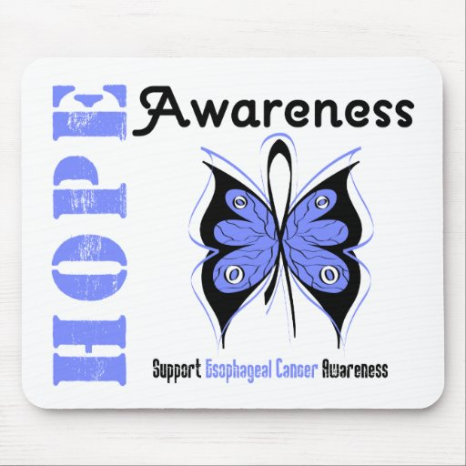 Esophageal Cancer Hope Awareness Mouse Mat