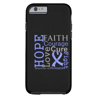 Esophageal Cancer Hope Faith Motto Tough iPhone 6 Case