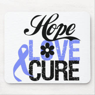 Esophageal Cancer HOPE LOVE CURE Gifts Mousepads