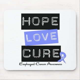 Esophageal Cancer Hope Love Cure Mouse Mats
