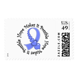 Esophageal Cancer Hope Makes It Possible Stamps