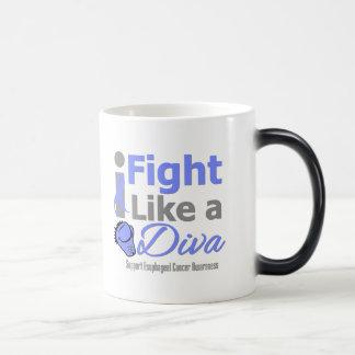 Esophageal Cancer I Fight Like a Diva Coffee Mugs