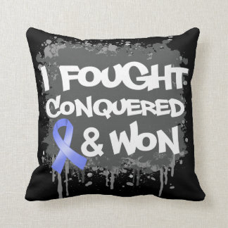 Esophageal Cancer I Fought Conquered Won Pillow