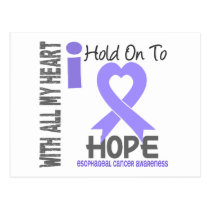Esophageal Cancer I Hold On To Hope Postcard