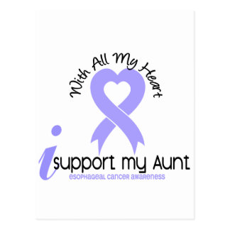 Esophageal Cancer I Support My Aunt Postcard