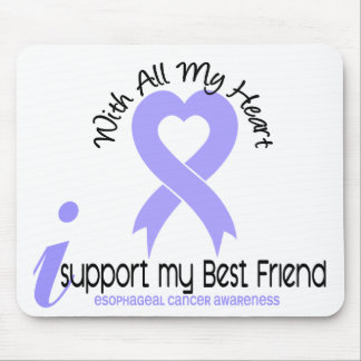 Esophageal Cancer I Support My Best Friend Mouse Mats
