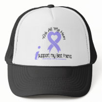 Esophageal Cancer I Support My Best Friend Trucker Hat
