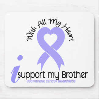 Esophageal Cancer I Support My Brother Mouse Pads