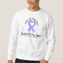 Esophageal Cancer I Support My Dad Sweatshirt