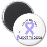 Esophageal Cancer I Support My Daddy Fridge Magnets