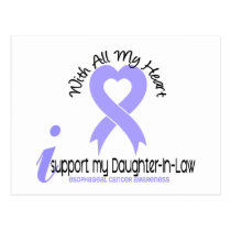 Esophageal Cancer I Support My Daughter-In-Law Postcard