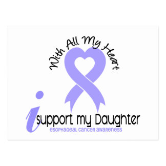 Esophageal Cancer I Support My Daughter Postcard