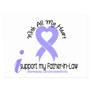 Esophageal Cancer I Support My Father-In-Law Postcard