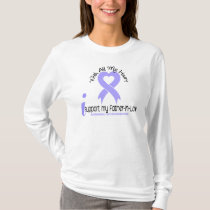 Esophageal Cancer I Support My Father-In-Law T-Shirt