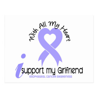 Esophageal Cancer I Support My Girlfriend Postcard