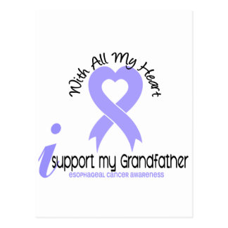 Esophageal Cancer I Support My Grandfather Postcard
