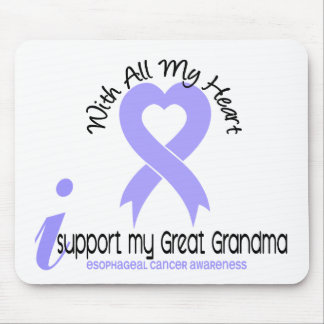 Esophageal Cancer I Support My Great Grandma Mouse Mats