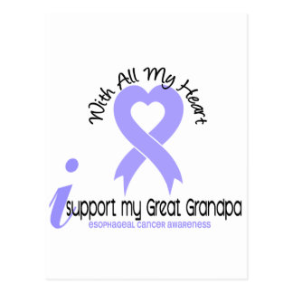 Esophageal Cancer I Support My Great Grandpa Postcard