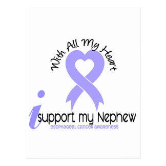 Esophageal Cancer I Support My Nephew Postcard
