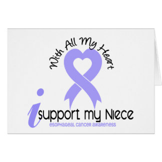 Esophageal Cancer I Support My Niece Greeting Card
