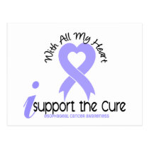 Esophageal Cancer I Support The Cure Postcard
