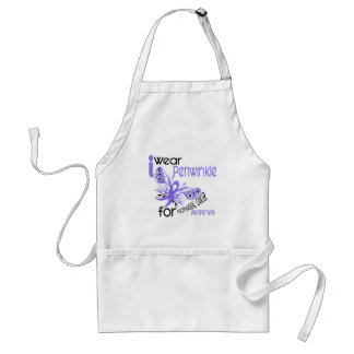 Esophageal Cancer I WEAR PERIWINKLE FOR AWARENESS Adult Apron