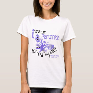 Esophageal Cancer I WEAR PERIWINKLE FOR MY BROTHER T-Shirt