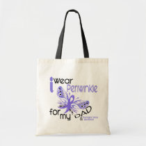 Esophageal Cancer I WEAR PERIWINKLE FOR MY DAD 45 Tote Bag