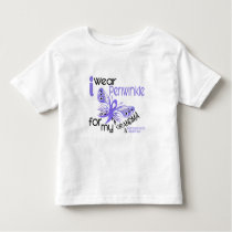 Esophageal Cancer I WEAR PERIWINKLE FOR MY GRANDMA Toddler T-shirt