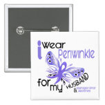 Esophageal Cancer I WEAR PERIWINKLE FOR MY HUSBAND Pin