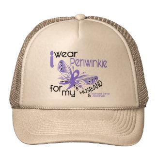 Esophageal Cancer I WEAR PERIWINKLE FOR MY HUSBAND Trucker Hat
