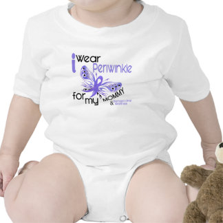 Esophageal Cancer I WEAR PERIWINKLE FOR MY MOMMY 4 Romper