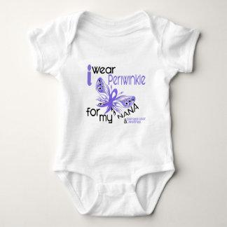Esophageal Cancer I WEAR PERIWINKLE FOR MY NANA 45 Baby Bodysuit