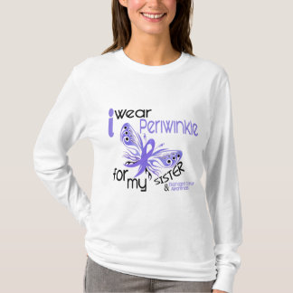 Esophageal Cancer I WEAR PERIWINKLE FOR MY SISTER T-Shirt