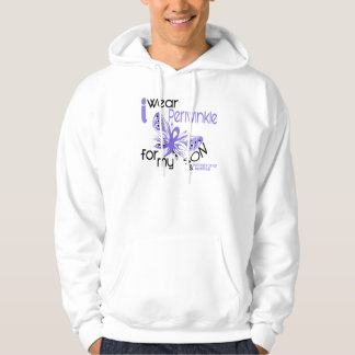 Esophageal Cancer I WEAR PERIWINKLE FOR MY SON 45 Hoodie
