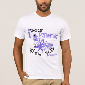 Esophageal Cancer I WEAR PERIWINKLE FOR MY SON 45 T-Shirt
