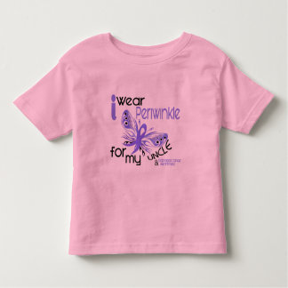 Esophageal Cancer I WEAR PERIWINKLE FOR MY UNCLE Toddler T-shirt