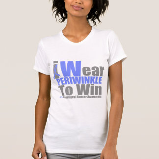 Esophageal Cancer I Wear Periwinkle Ribbon To WIN T-shirt