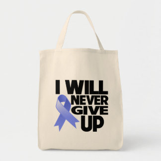 Esophageal Cancer I Will Never Give Up Canvas Bag