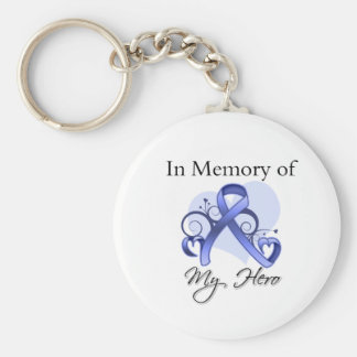 Esophageal Cancer In Memory of My Hero Keychain