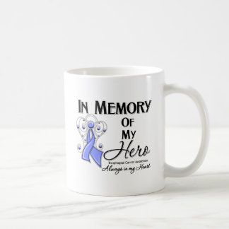Esophageal Cancer In Memory of My Hero Classic White Coffee Mug