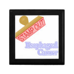 Esophageal Cancer Jewelry Boxes