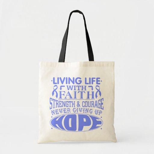 Esophageal Cancer Living Life with Faith Bag