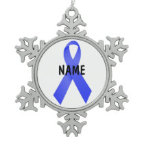 Esophageal Cancer Memorial Ornament