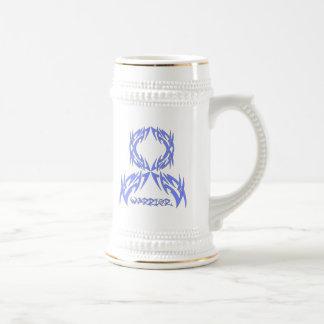 Esophageal Cancer Mens Warrior Tribal Coffee Mug