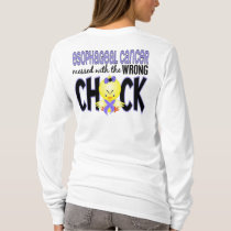 Esophageal Cancer Messed With The Wrong Chick T-Shirt