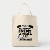 Esophageal Cancer Met Its Worst Enemy in Me Tote Bag