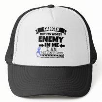 Esophageal Cancer Met Its Worst Enemy in Me Trucker Hat