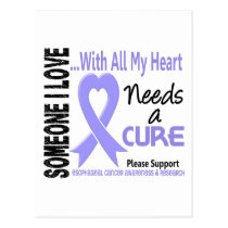 Esophageal Cancer Needs A Cure 3 Postcard