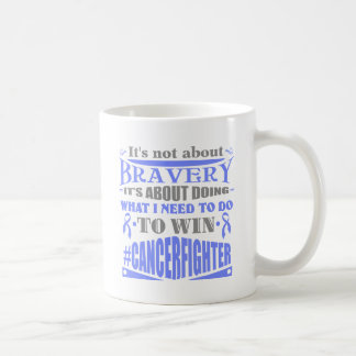 Esophageal Cancer Not About Bravery Coffee Mugs